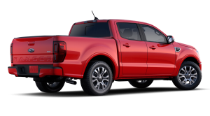 2020 Ford Ranger in Race Red